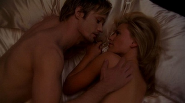 true blood bill and sookie kiss. pictures true blood bill and