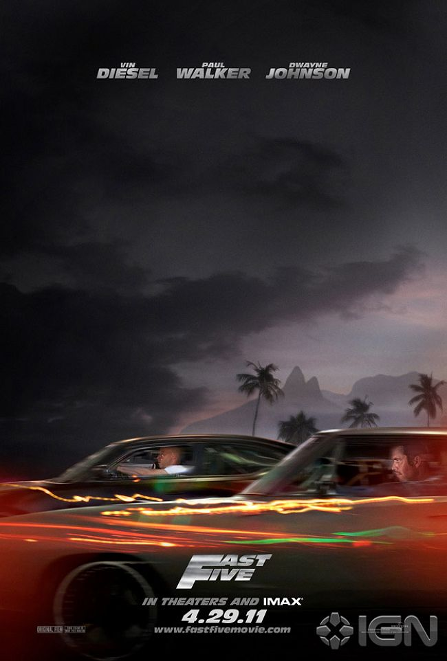 the fast five poster. new fast five poster. the fast