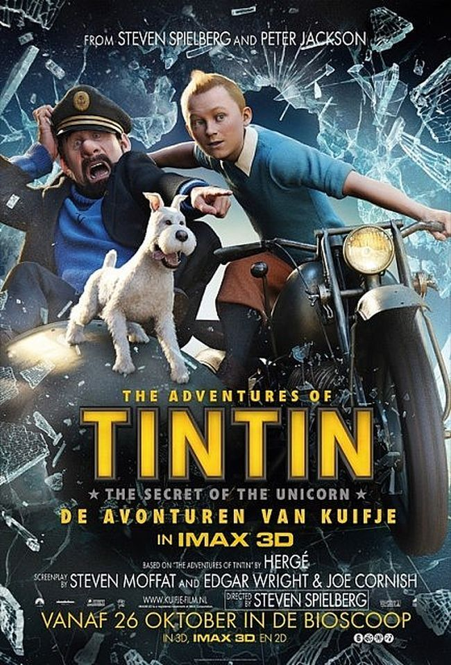 Les Aventures de Tintin : Le Secret de la Licorne film streaming