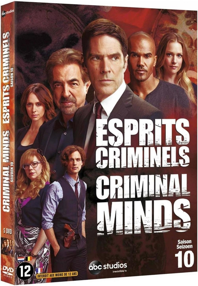 esprits criminels la saison 10 en coffret 5 dvd le 24 f vrier unification france. Black Bedroom Furniture Sets. Home Design Ideas