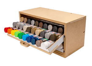 Article | unificationfrance.com - Modular storage for painter of toy figures Post image