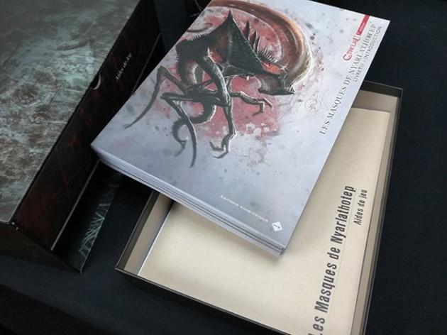 2019 authentique nouvelle collection haute qualité L'Appel de Cthulhu V7 : Les Masques de Nyarlathotep ...