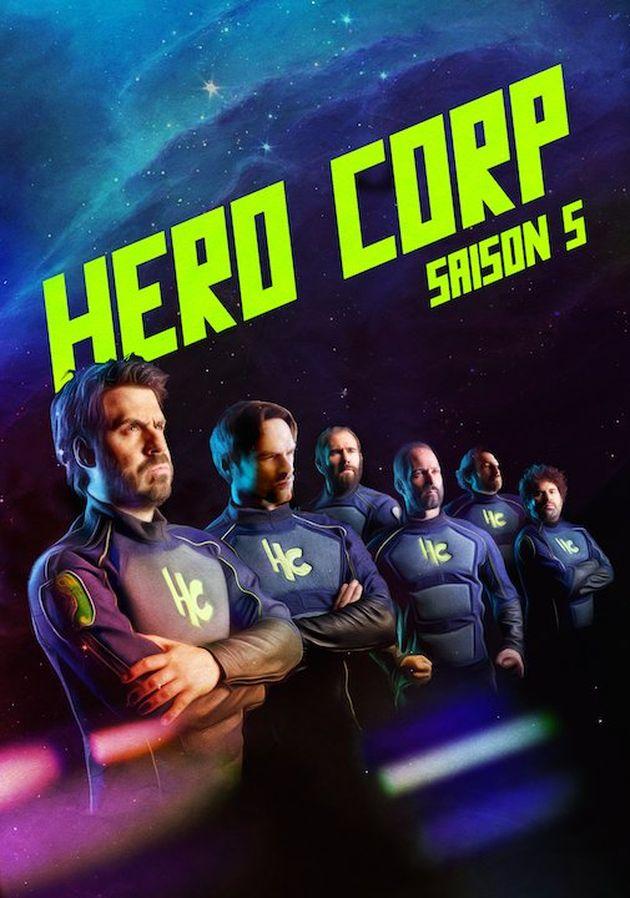 hero corp saison 5 coffret blu ray dvd la critique unification france. Black Bedroom Furniture Sets. Home Design Ideas